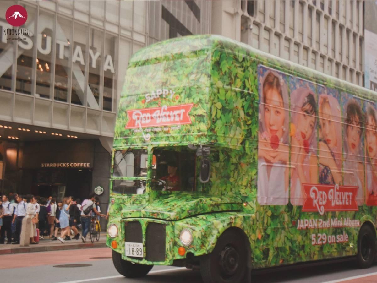 Bus red velvet Japan Tour Konzert Album Tokyo