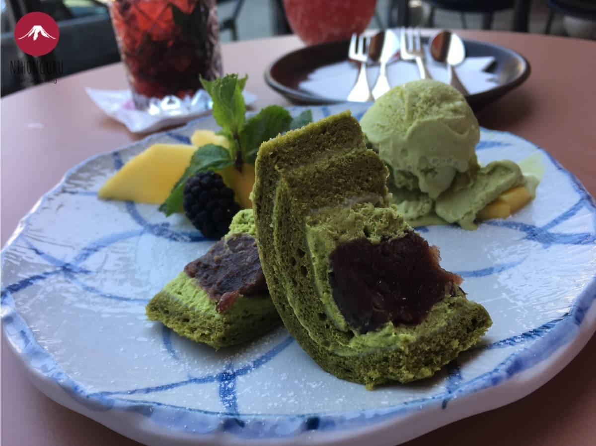 Cake roll matcha Azuki Anoki München Anko