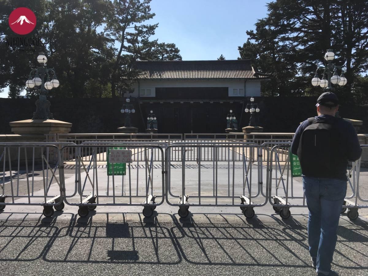 Eingang Palastgelände Tenno Kaiser