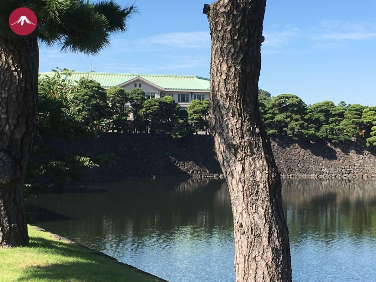 Imperial Household Agency Hauptquartier Tokio