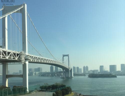 Die Insel Odaiba in Tokio